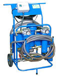 Filtration mobile equipment