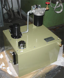 Special Coolant unit with a Arancia motorpump type T assambled